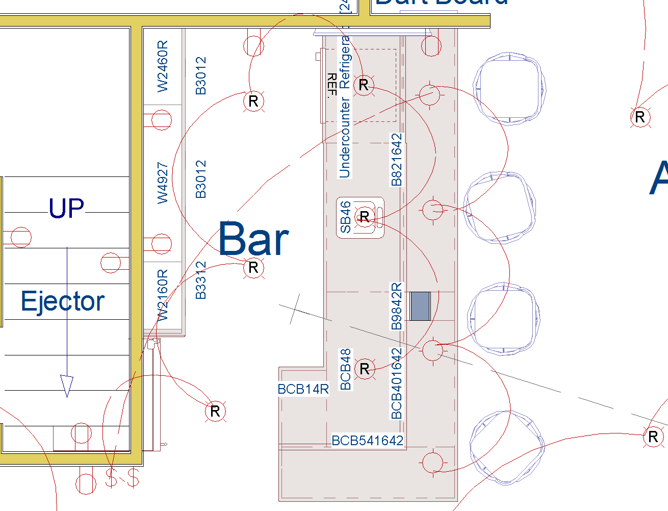 hight resolution of electrical plan for basement