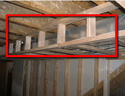 How To Frame Around The Ductwork In Basements
