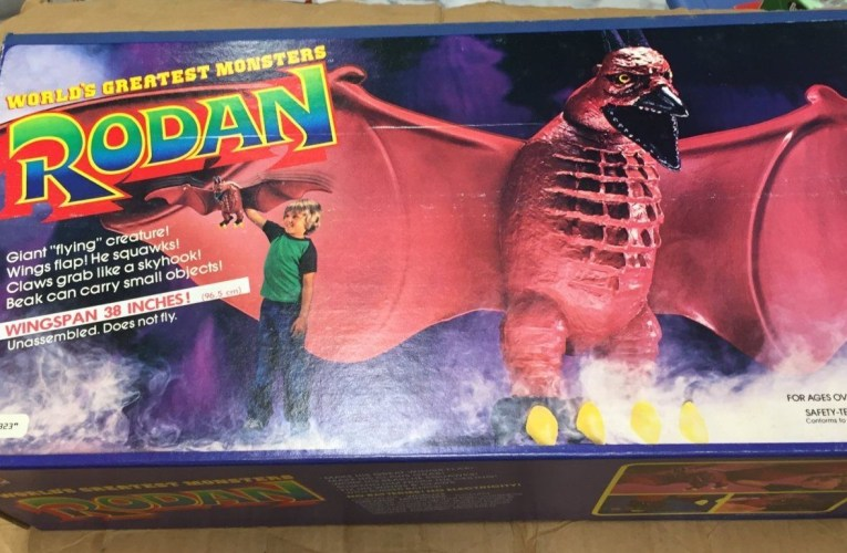 THE BASEMENT TOY BOX: Mattel's Rodan
