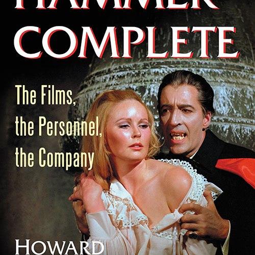 "THE BASEMENT BOOKSHELF: ""Hammer Complete"" by Howard Maxford"