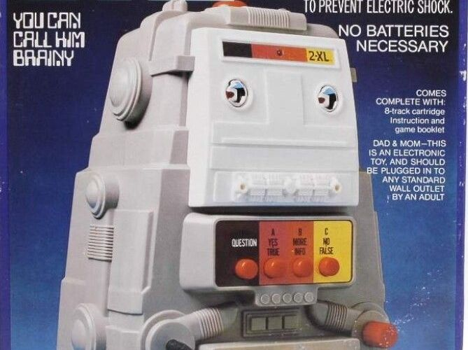 THE BASEMENT TOY BOX: Mego's 2-XL,  The Robot With A Personality