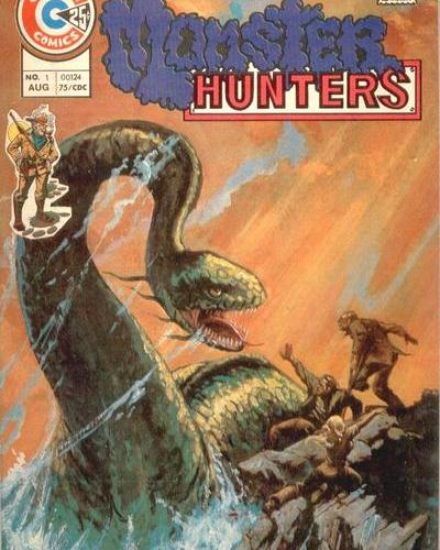 "OFF THE RACK COMICS: ""Monster Hunters"" by Charlton Comics"