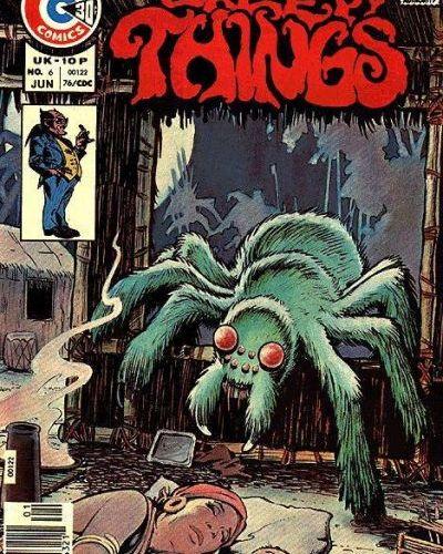 "OFF THE RACK COMICS: ""Creepy Things"" by Charlton Comics"