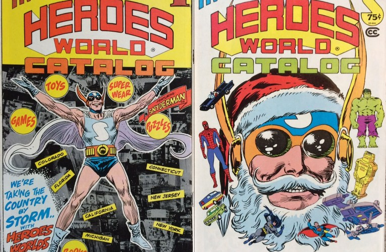 THE BASEMENT BACK IN TIME: The Heroes World Catalog