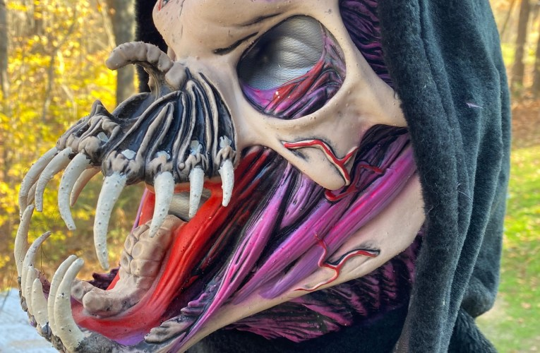 MONSTROUS MASK REVIEWS: Unleashed Wickedness by Zagone Studios