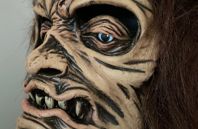 MONSTROUS MASK REVIEWS: Shrunken Head by Be Something Studios
