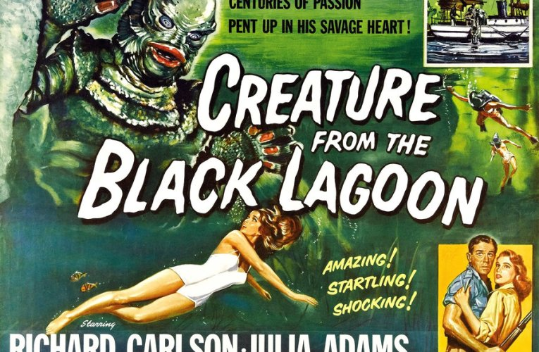 THIS SATURDAY ON SVENGOOLIE (January 16, 2021): The Creature From The Black Lagoon