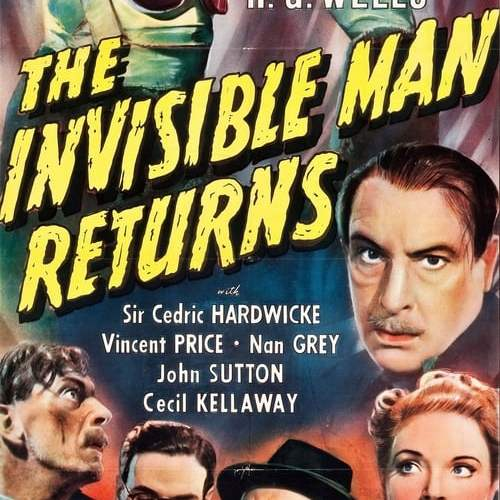 THIS SATURDAY ON SVENGOOLIE (February 20, 2021): The Invisible Man Returns.