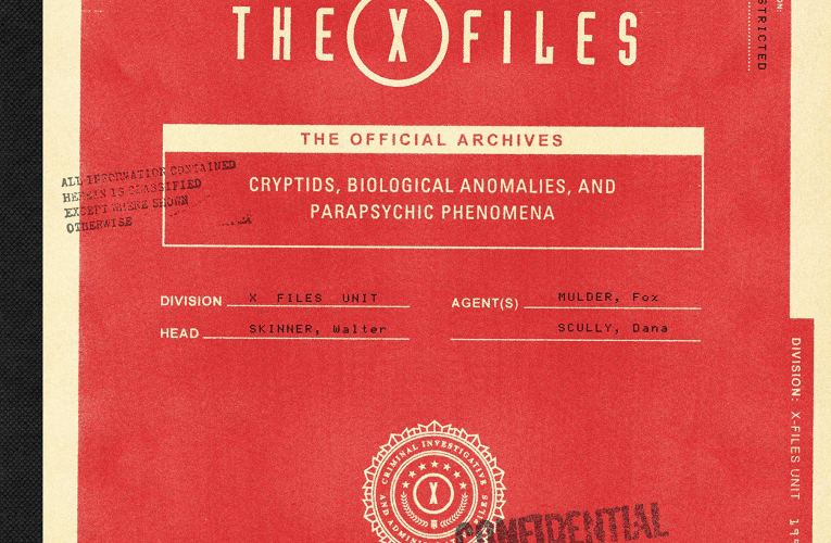 "THE BASEMENT BOOK SHELF: ""The X-Files: The Official Archives: Cryptids, Biological Anomalies, and Parapsychic Phenomena"" by Paul Terry"