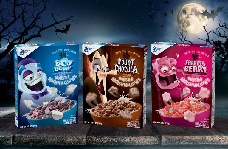 Happy 50th Anniversary Monster Cereals!