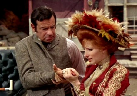 Image result for MATTHAU AND STREISAND IN HELLO DOLLY!