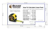How To Measure Linear Feet  Beaver Basement