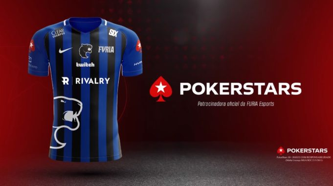 FURIA anuncia PokerStars como nova patrocinadora