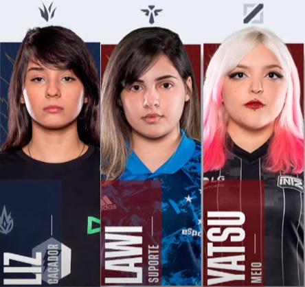 CBLOL Academy: Pela primeira vez no cenário brasileiro, três mulheres são titulares em partidas oficiais