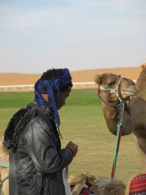 Camel en cameldriver
