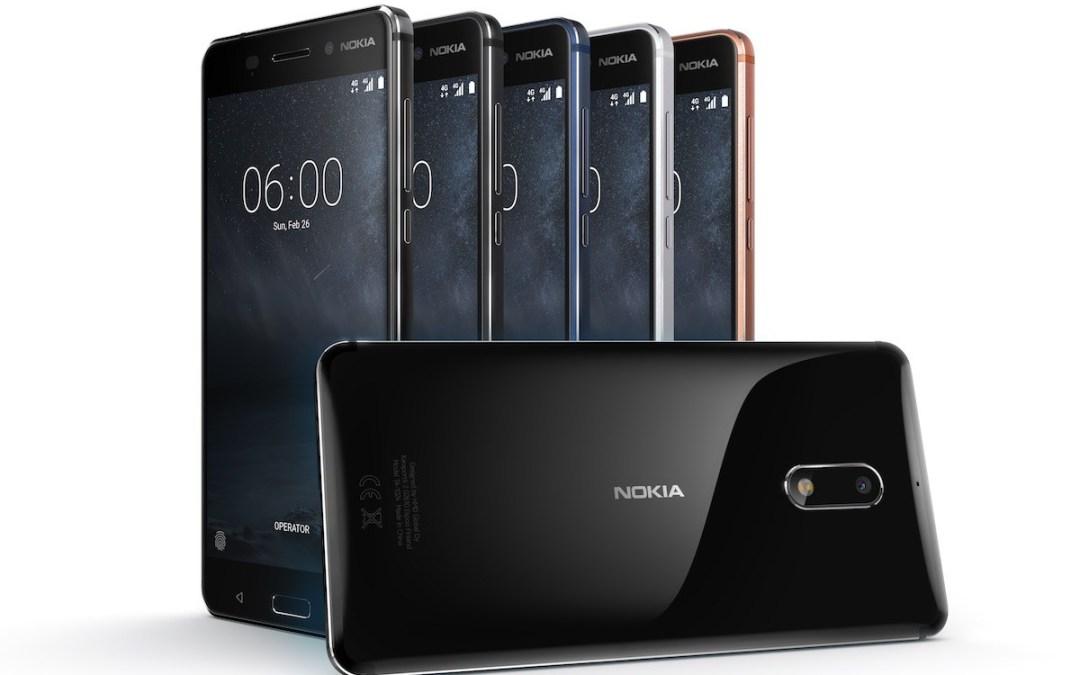 أجهزة نوكيا الجديد تتاح في الاسواق في الربع الثاني من العام 2017