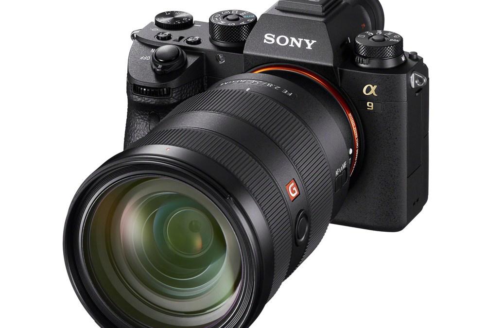 سوني α9 تفوز بجائزة أفضل كاميرا للعام 2017-2018