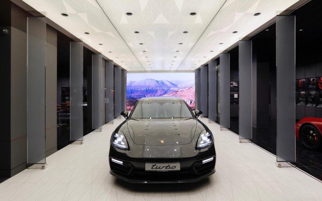 سيارات بورش تفتتح استوديو جديد في بيروت