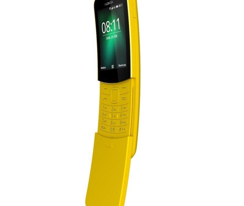 نوكيا 8110 على شبكة الجيل الرابع سيصبح متوفراً بدءا من 21 أيار