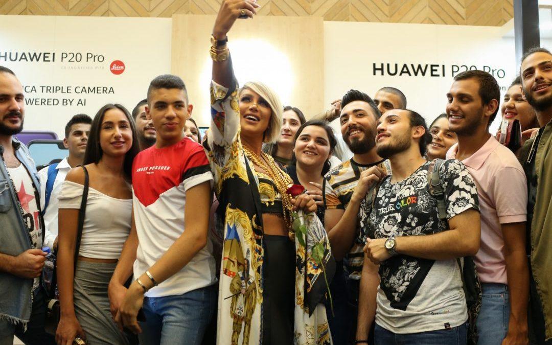 هواوي Pro P20 يجذب الحشود في أسواق بيروت هواوي تنظم نشاطاً ترويجياً تفاعلياً مع المستهلك اللبناني
