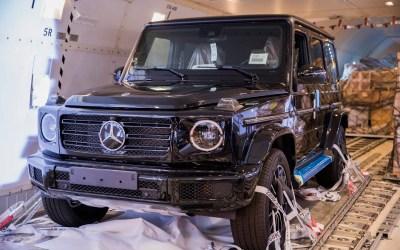 وصلت  G-Class الجديدة الى لبنان..سيّارة أقوى من الزّمن