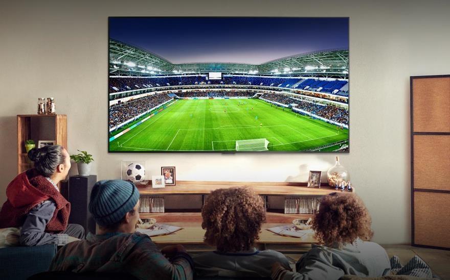 """تلفزيونات LG الجديدة حائزة على جوائز """"أفضل عرض للمباريات"""""""