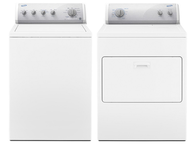 Crosley He Top Load Washer Amp Dryer Set Model Caw42114gw