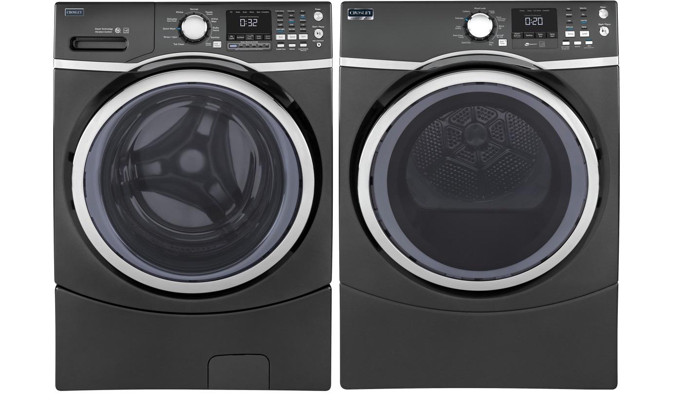 Crosley Front Load Washer Dryer Set Model Yfw450spmdg Yfd45espmdg Basham S