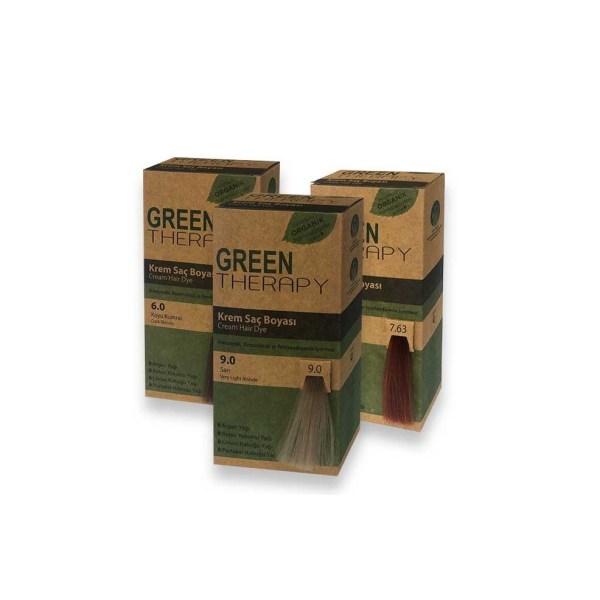 صبغة green therapy جرين ثيرابي العضوية للشعر