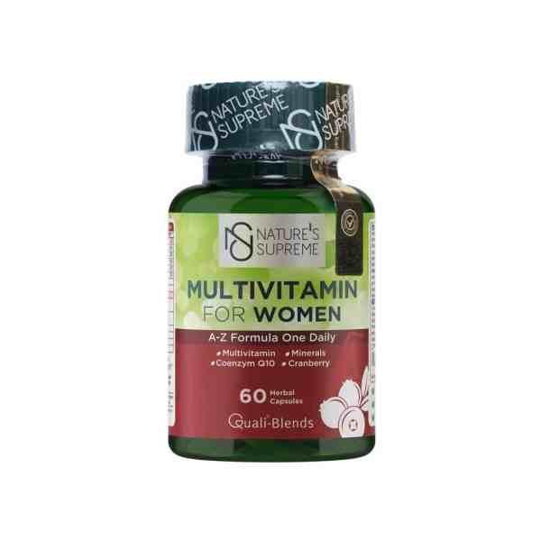 فيتامينات متعددة للنساء | 60 كبسولة