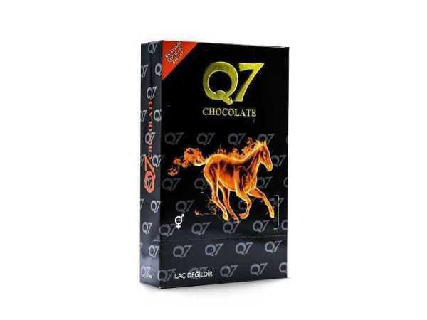 شوكولاتة Q7 المقوية 500 غرام بخلاصة الإبيميديوم والجنسنج