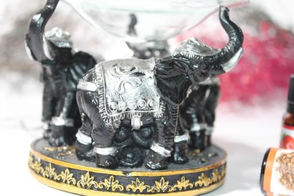 مبخرة بخور شكل فيل 2000 غرام