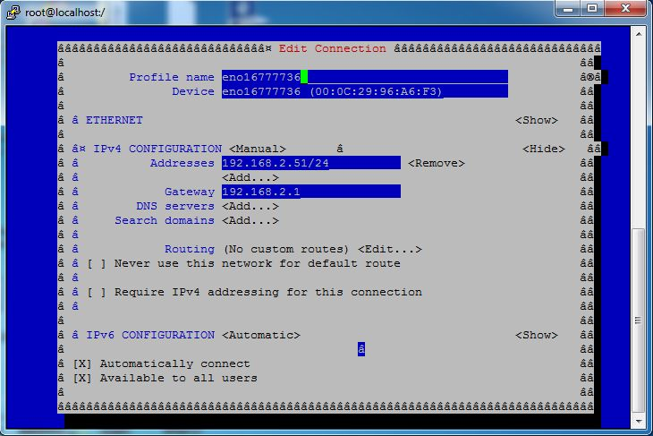 How to configure IP address in Redhat/Centos 7 – Bashcodes
