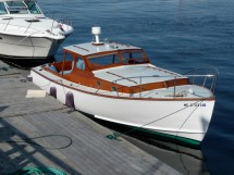 Restoring this classic built and designed in the 50's by Eaton's Boat Yard.