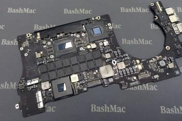 MacBook motherboard repair or exchange