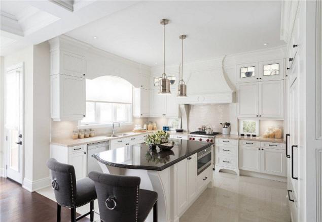 islands for the kitchen designers 20想法的厨房设计的美国风 页1 一个集中的布局的所有家具和家用电器在典型的美国厨房建在周边的房间内g p s形的 以及中央部分的岛屿 或餐组 这样的分组对象是方便的 因为允许以卸载空间的自由