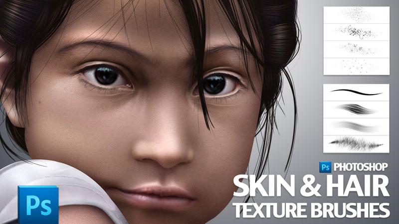 skin brushes photoshop