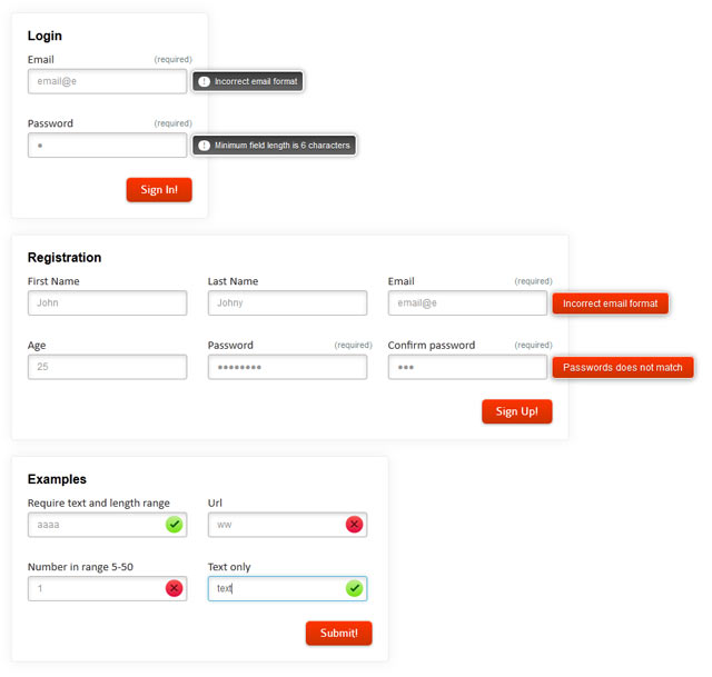 8 Powerful jQuery Plugins For Client-Side Form Validation