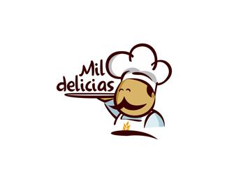 25 Delicious Bakery Logo Designs Bashooka