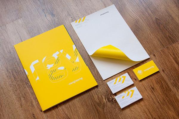 20 Inspiring Letterhead Designs  Web  Graphic Design