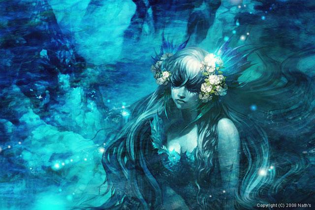 15 Wonderful Mermaid Illustrations – Bashooka