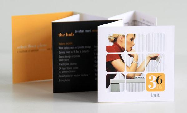 15 Awesome Mini Brochure Designs Web & Graphic Design