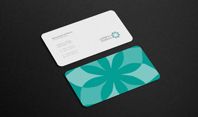 20 Cool Rounded Corner Business Cards Web & Graphic