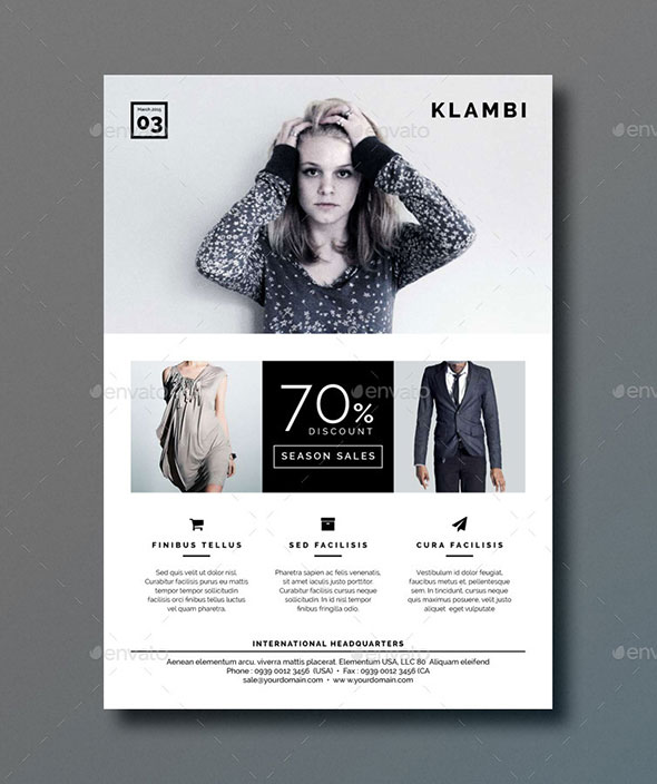 20 InDesign Flyer Templates For Business  Web  Graphic Design  Bashooka