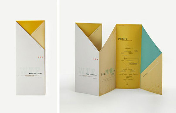 45 Interesting Brochure Designs Web & Graphic Design Bashooka