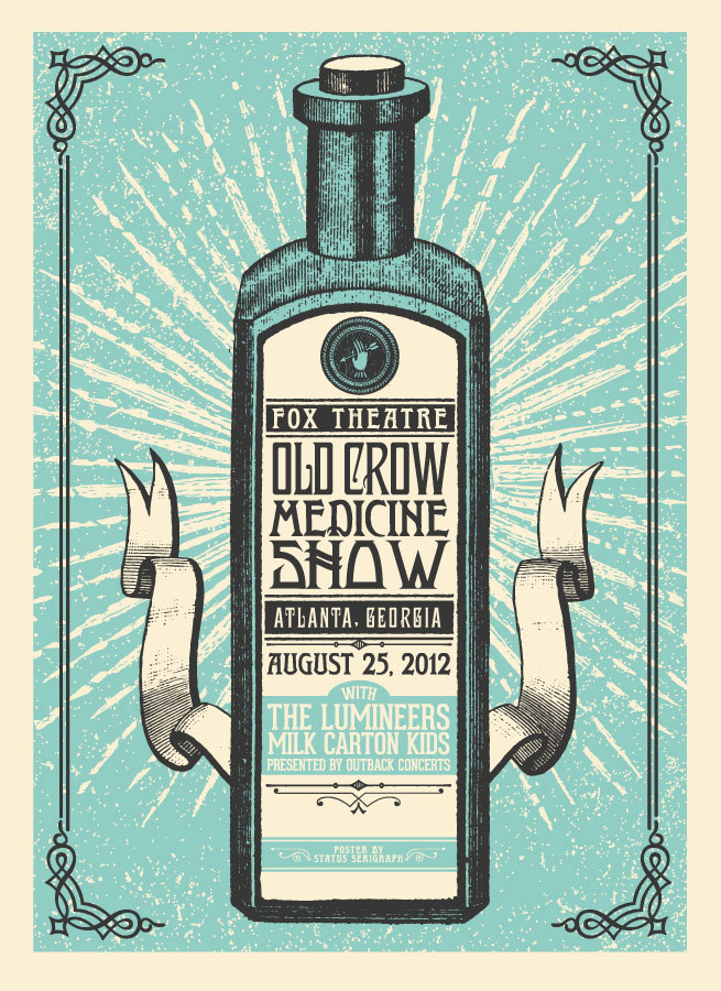 80 Amazing Examples Of Gig Poster Designs – Web & Graphic