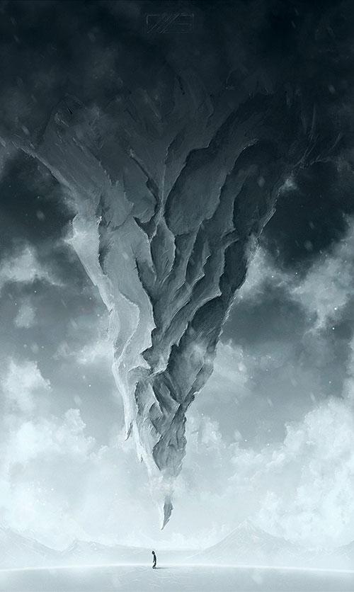 Blood Falling Wallpaper 35 Surreal Illustration Photoshop Tutorials Web