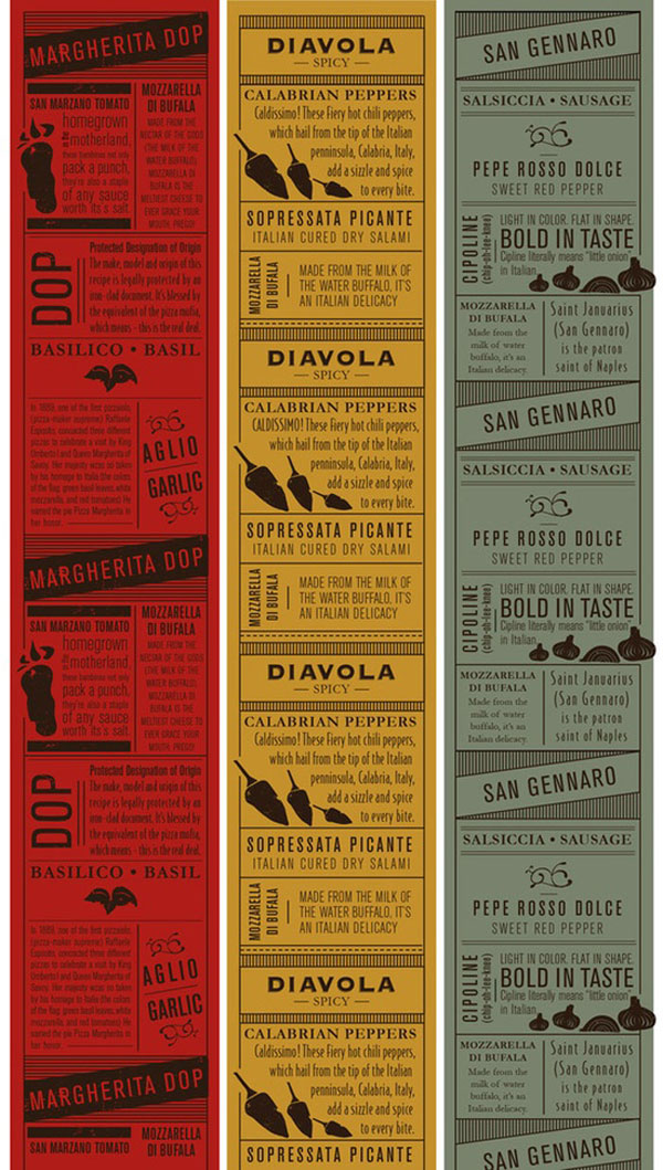 45 Remarkable Food & Drink Menu Designs – Web & Graphic