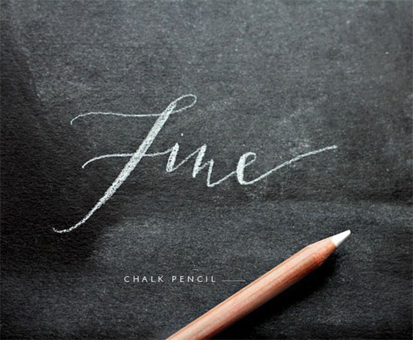 22 Awesome Chalkboard Typography Arts Web Amp Graphic