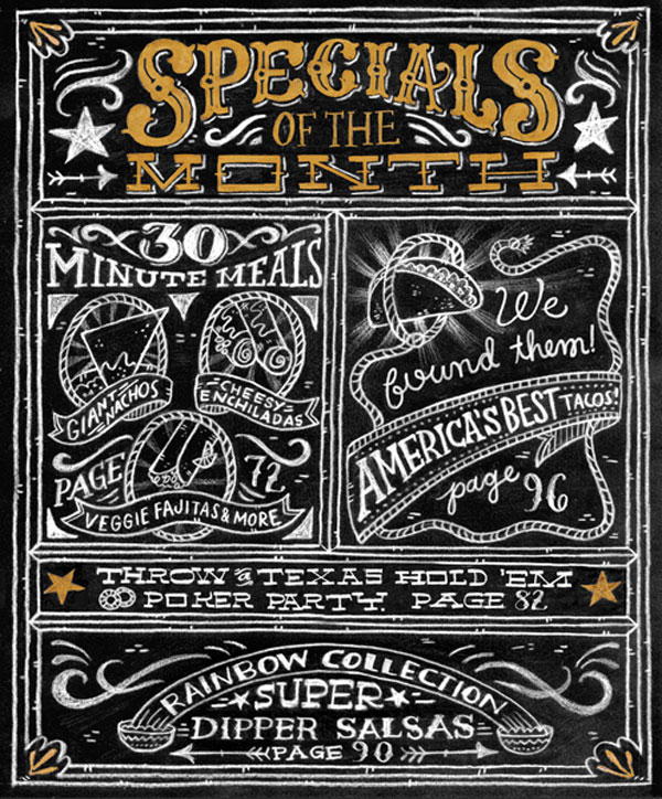22 Awesome Chalkboard Typography Arts Web & Graphic